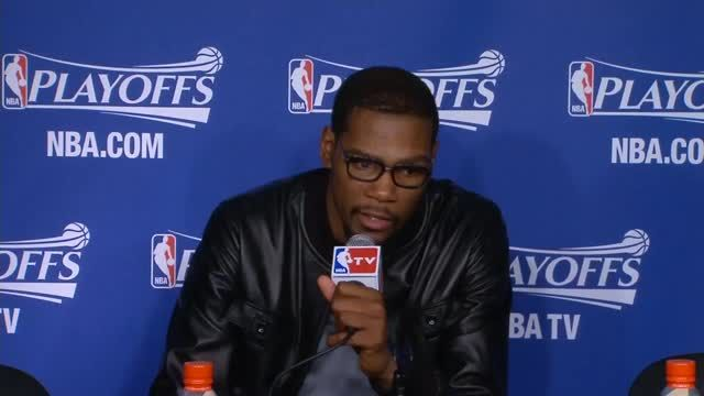 News video: Durant praises team after playoff exit